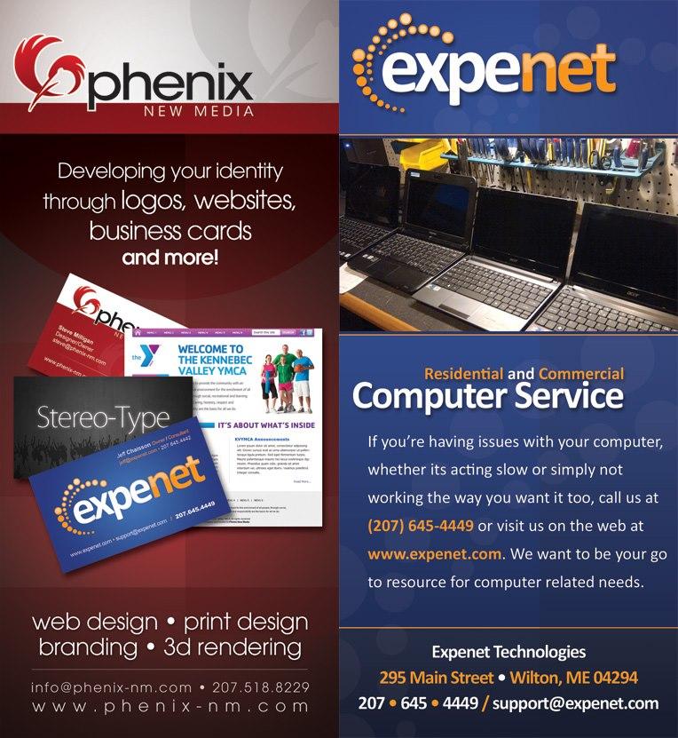 Phenix and Expenet Rackcard