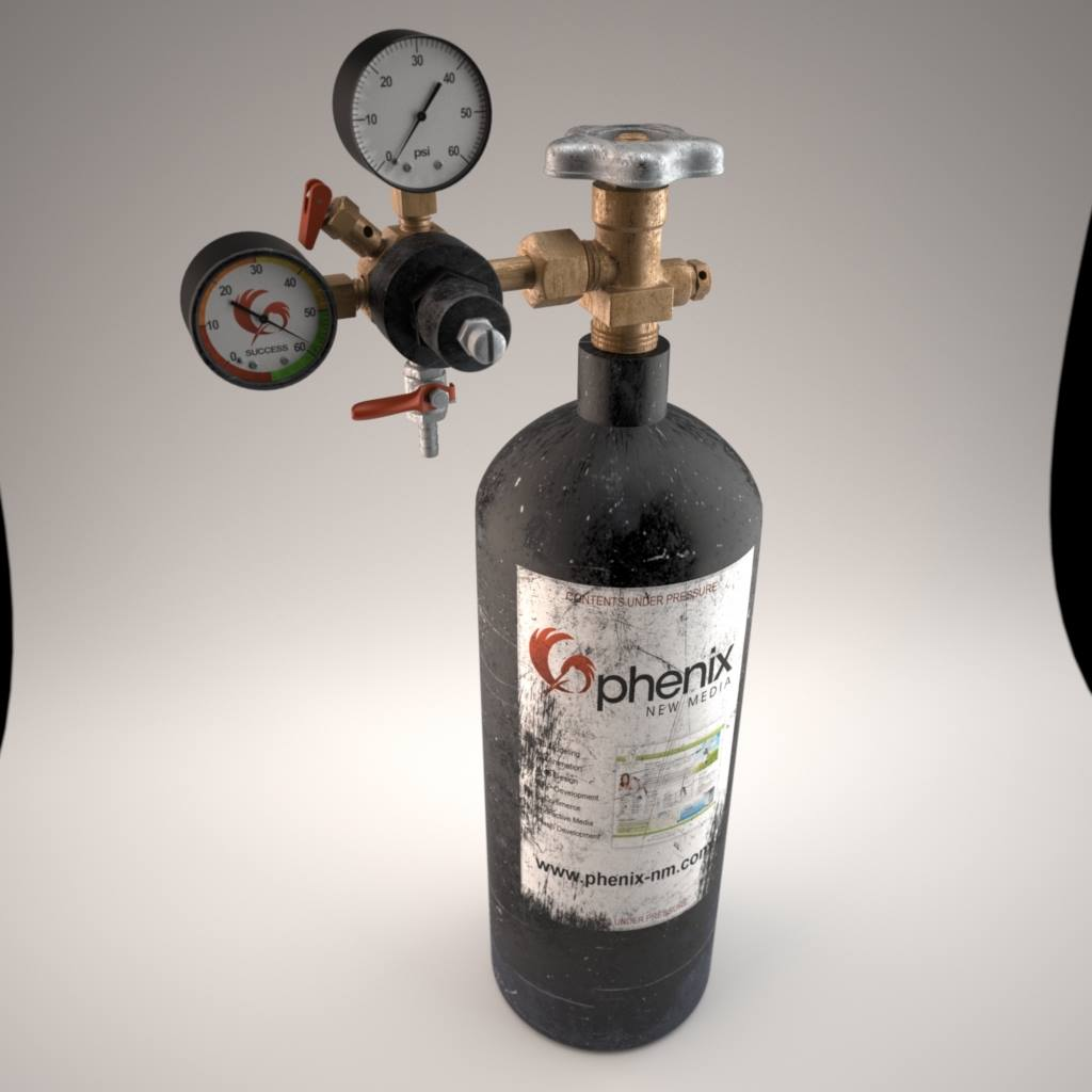 Co2 Tank and Regulator