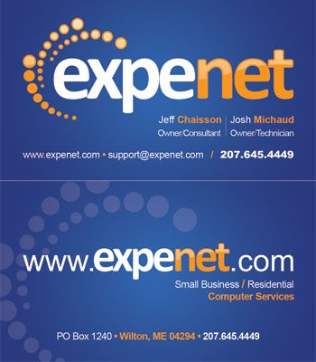 Expenet Business Card/Logo