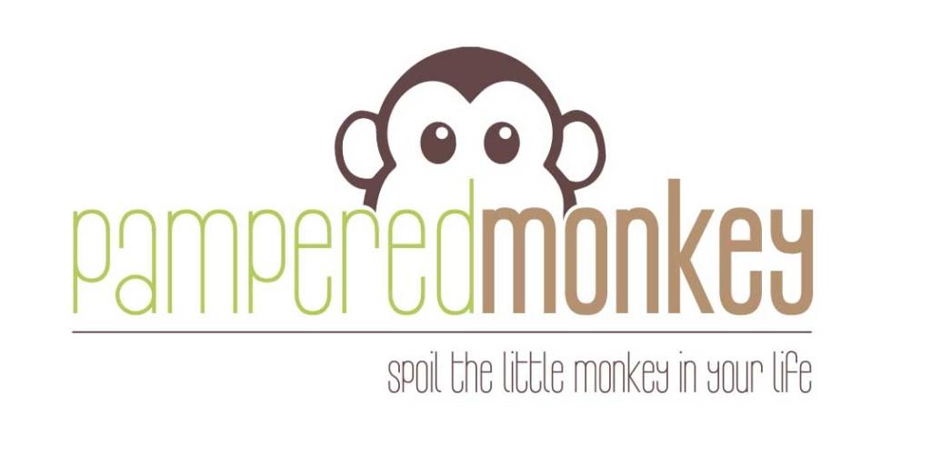 Pampered Monkey Logo