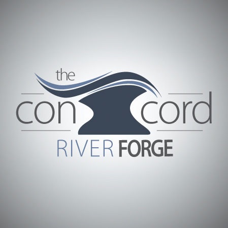 The Concord River Forge Logo
