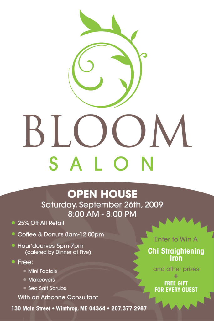 Bloom Salon Open House