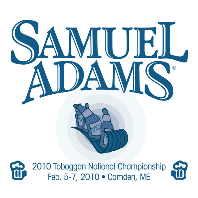 Team Jersey for Sam Adams` sponsored National Toboggan Team
