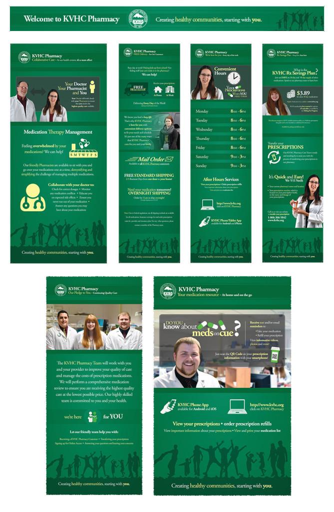 KVHC Pharmacy Signs